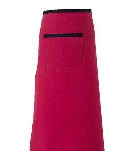 Midjeförkläde Röd